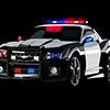 3D Police Car Jigsaw